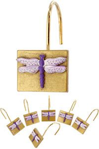 Dragonfly Shower Hooks at The Animal Rescue Site