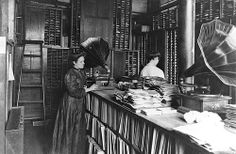 Record Matrix Room, Berliner Gramophone Company, Montreal, QC, 1910 | Flickr - Photo Sharing!