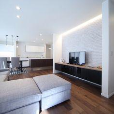 kurumiさんの、リビング,IKEA,北欧,輸入壁紙,Panasonic,のお部屋写真
