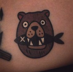 #tattoofriday - Tatuagens divertidas e com traços bold de Panther Tattoo Jiran;