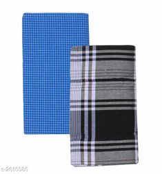 Dhotis, Mundus & Lungis Men's Cotton Lungis (Pack Of 2) Fabric: Cotton Size: 2.25 Mtr Description: It Has 2 Pieces Of Men's Lungis Pattern: Checkered  Sizes Available: Free Size *Proof of Safe Delivery! Click to know on Safety Standards of Delivery Partners- https://ltl.sh/y_nZrAV3  Catalog Rating: ★4.1 (864)  Catalog Name: Trendy Men's Cotton Lungis Combo Vol 4 CatalogID_353285 C66-SC1204 Code: 403-2615085-