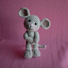 Ravelry: Morris the mouse pattern by Janice Cyr