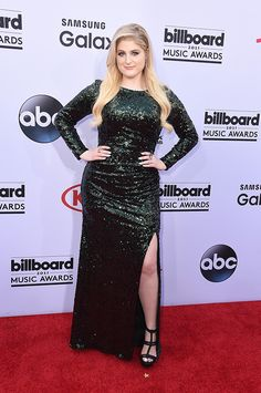 Meghan Trainor at 2015 Billboard Music Awards!!