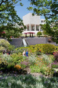 Getty Center Garden, L.A.
