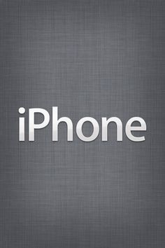 With this iPhone Wallpaper I never forget that I have an iPhone :)))