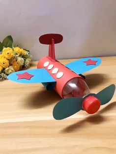 DIY Papierflieger DIY paper plane diysYou can find Planes and more on our website. Paper Crafts Origami, Paper Crafts For Kids, Craft Activities For Kids, Craft Stick Crafts, Preschool Crafts, Diy For Kids, Fun Crafts, Paper Crafting, Creative Ideas For Kids