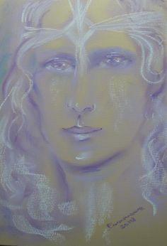 Guardian Angel Portrait Spirit Guides, Disney Characters, Fictional Characters, Angels, Portrait, Disney Princess, Art, Art Background, Headshot Photography