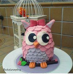 Owl Cake - Tarta Búho