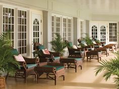 85. Four Seasons Resort Lana'i, The Lodge at Koele. Sited in the central highlands, this plantation-style lodge has an orchid house, stables, and an old church on its grounds.