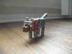 Minecraft Perler Wolf by BreachofRealityCraft.deviantart.com on @DeviantArt