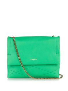 Sugar mini leather shoulder bag by Lanvin | Shop now at #MATCHESFASHION.COM