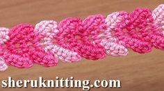 Crochet Single Stitch Braid Tutorial 30