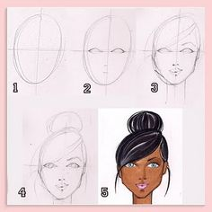 Fabulous Doodles-Fashion Illustration Blog-by Brooke Hagel: Tuesday Tip: Faces