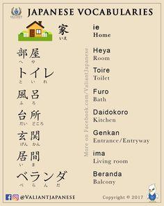 Japanese home vocabulary