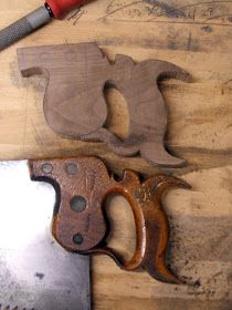 Handsaw maker: Saw making article in the Carpenters' Fellowships Mortice and Tenon.