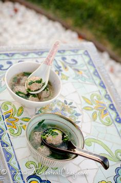 #LowCarb Chinese Meatball #Soup Shared on https://www.facebook.com/LowCarbZen