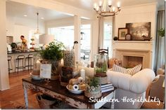 Southern Living Idea house living room