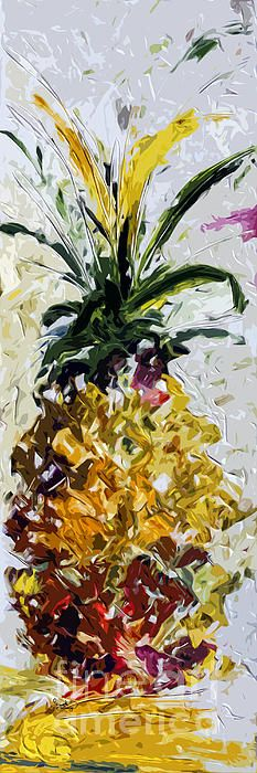#Pineapple Triptych Middle Piece