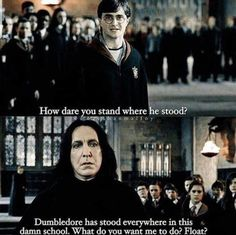 Harry Potter: 10 Snape Logic Memes Only True Potterheads Understand - Severus . - Harry Potter: 10 Snape Logic Memes that only True Potterheads understand – Severus S …- Harry P - Images Harry Potter, Arte Do Harry Potter, Harry Potter Puns, Harry Potter Characters, Harry Potter Universal, Harry Potter World, Funny Harry Potter Quotes, Harry Potter Severus Snape, Draco Malfoy