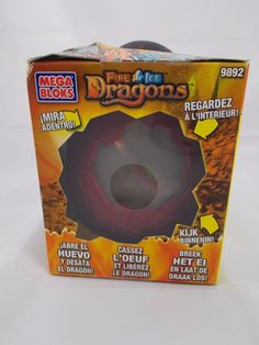 Mega Bloks Fire Ice Dragons #9892 Smoke Dragon #MegaBloks