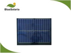 BlueSolaria's solar panel is covered with tempered glass. The solar panel adopts high efficient poly solar cell. Perfect for DC battery. 12 Volt Solar Panels, 12v Solar Panel, Small Solar Panels, Portable Solar Power, Water Systems, Connection, Frame, Glass, Picture Frame