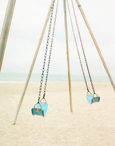 Swings! (and the beach!)