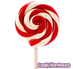 Just found Giant 10-Ounce Red & White Swirl Lollipop in Gift Box @CandyWarehouse, Thanks for the #CandyAssist!