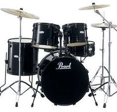 """Pearl Drum Kit - We have this pearl kit for rental. 22""""bass, 8"""", 10"""", 12"""", 13"""" 14"""", and 16"""" toms"""
