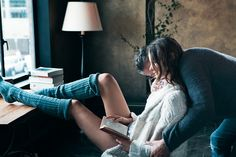 """Danny Kelly: Kinfolk Magazine ~ """"getting cozy"""" Kinfolk Magazine, Young & Hungry, Getting Cozy, Couples In Love, Sensual, Book Lovers, Lounge Wear, Style Lounge, At Least"""