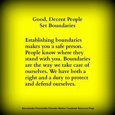 Good men respect when women set boundaries relationship