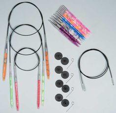 Knitter's Pride Marblz Deluxe Interchangeable Needle Set
