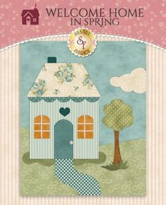 Welcome Home In Spring Pattern Set