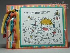 It's pasture birthday by darhm - Cards and Paper Crafts at Splitcoaststampers