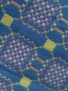 Pastel geometric tapestry . TBV78 - Tapestry Bed Covers Vintage Welsh Blankets