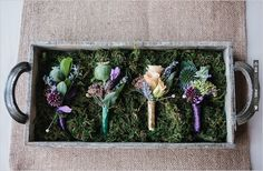 boutonnieres by Finch & Thistle | CHECK OUT MORE IDEAS AT WEDDINGPINS.NET | #bridesmaids