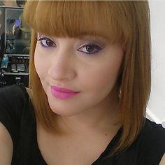 @annioliveira maquiada pelo @deniscoulter, ambos do Beauty Team da NYX Teresina. Nos lábios, Matte Lipstick Shocking Pink