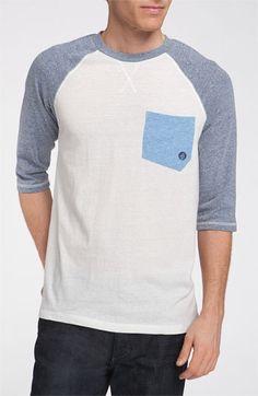 Volcom 'Rudi' Raglan Baseball T-Shirt