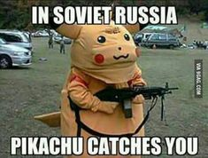 In Soviet Russia!