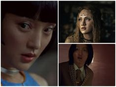 xunzhou_cloudatlas,,,,,,,,Xun Zhou  Chinese actress Zhou has two smaller roles in the film, but they're both memorable; she plays a rebellious clone in the future and a protective mother in the even-more-distant future. All character's played: Talbot / Hotel Manager / Yoona-939 / Rose.