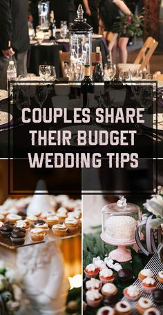These couples share their brilliant ideas for cutting wedding costs.