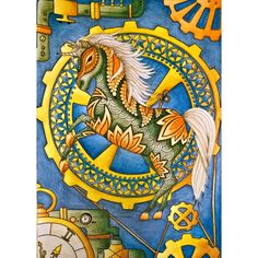 "Unicorn on contest ""Między Kreskami"" 😊 + my sketch in background 😊 Little steampunk style 😉  Faber Castell Albrecht Dürer + Mondeluz + Derwent Watercolour  #unicorn #steampunk #adultcoloringbook  #coloringbook #coloringforadults #coloringpages #coloringforgrownups  #albrechtdurer #albrechtdürer #fabercastell #mondeluz #derwentwatercolour #kolorowaniedladorosłych #kochamkolorować #kolorowamafia"