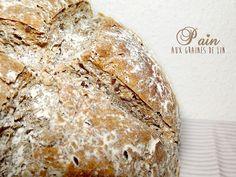 Pain multi-céréales et graines de lin (sans MAP) Bread Recipes, Healthy Recipes, Healthy Food, Pizza, Articles, Natural, Blog, Cereal Bread, Brioche Bread
