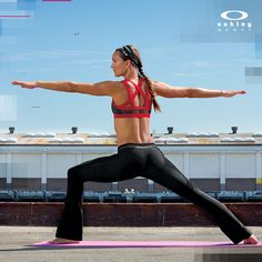 Celebrate National Women's Health and Fitness Day and National Yoga month! Bring out your mat and get your Yoga on outside!