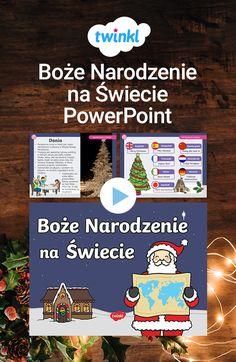 Pięknie ilustrowana prezentacja o tradycjach Bożonarodzeniowych w różnych krajach na świecie. Kliknij, aby pobrać i odkryć setki tysięcy materiałów dydaktycznych! #bożenarodzenie #święta #święta2019 #wigilia #tradycje #naświecie #wkrajach #prezentacja #powerpoint #boże #narodzenie #twinklresources #twinkl #polska Montessori Classroom, Advent, Christmas, Decor, Xmas, Decoration, Navidad, Noel, Decorating
