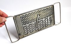 VINTAGE CHEESE GRATER, Vintage Handheld grater, vintage kitchenware, vintage kitchen decor, home decor, retro kitchenware,country decor,gift by TheJellyJar on Etsy