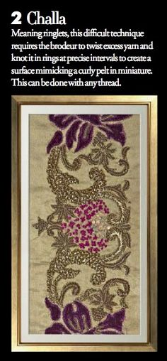 Exquisite Embroideries- CHALLA