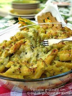Veg Recipes, Pasta Recipes, Italian Recipes, Cooking Recipes, Healthy Recipes, Italy Food, Italian Pasta, Pasta Dishes, Ricotta