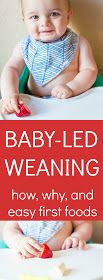 Silver Lining: baby-led weaning: how we never bought or made baby food