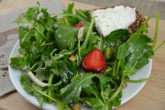 Brett Emerson's Goat Cheese Toasts w/Spring Salad from the WSJ
