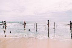 The Ancient Tradition Of Stilt Fishing… In Galle, Sri Lanka